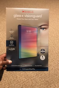 iPad 12.9 Screen Protector (Glass + VisionGuard)