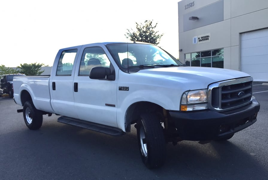 Ford F-350 4X4 PowerStroke Turbo Diesel Crew Cab Long Bed 1