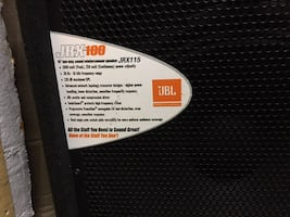 JBL JXR100 pair of speakers