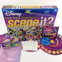 Disney Scene It DVD Board Game Original 1st Editio Port Colborne