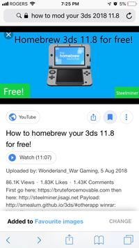 Looking for someone who knows how to mod 3ds London, N5W 2N2