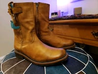 Pskaufman no.0030 Highway Side Zip Boot Caisson Tan Silver Spring, 20901