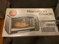 Hamilton Beach toaster oven box San Francisco, 94112