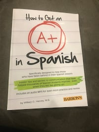How to Get an A+ in Spanish book William C. Harvey New Baltimore, 48047