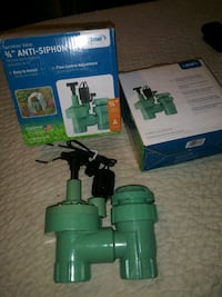 2 Sprinklers Valves 3/4            price REDUCED Riverside, 92509