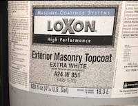 Masonry topcoat new 5 gallons  Oroville, 95966