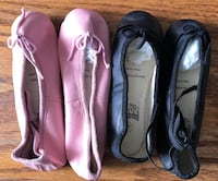 New Exercise/Ballot Slippers in assorted toddler sizes