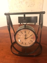 Hanging Table Clock with Thermometer Arlington