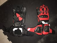 red and black motorcycle gear set Manassas, 20109