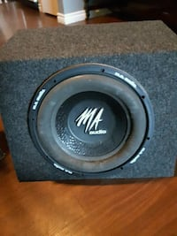 black and gray Pioneer subwoofer speaker Woodstock, N4T 1N2