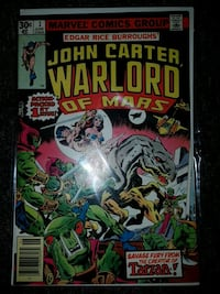John Carter warlord of Mars  issue no. 1 Kitchener, N2P 1R7