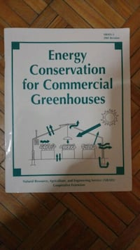 Energy conservation for commercial greenhouses St. Catharines