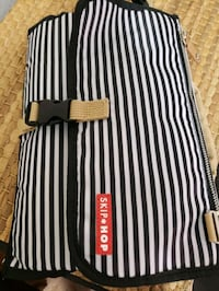 black and white stripe wristlet Washington, 20009