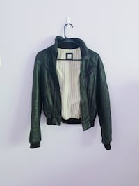 Leather jacket - lightly worn -Small Centreville, 20120