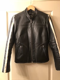 black leather zip-up jacket Kelowna, V1Y 2E1
