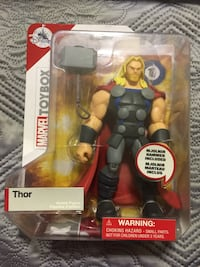 Marvel toy ibox thor disney store