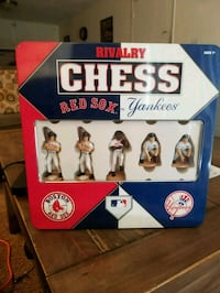 Red Sox versus Yankees Chess Set North Andover, 01845