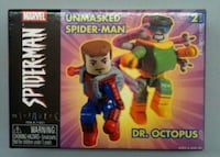 UNMASKED SPIDER-MAN AND DR. OCTOPUS MARVEL MINIMAT 552 km