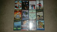 assorted titles of DVD movie case lot Halifax, B3M 1C4