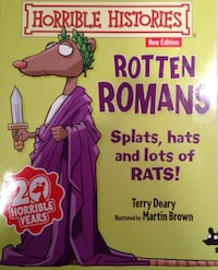 Rotten Romans by Terry Deary y otros libros Madrid, 28040