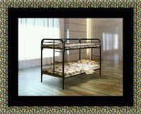 Twin bunk bed frame with mattress Bowie