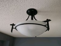 Hampton Bay 3 bulb Ceiling light fixture Mississauga, L4W 4Z3