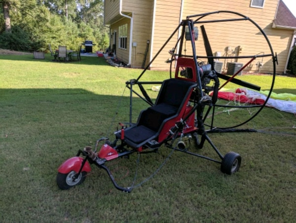 Harmening Deluxe High Flying Trike-Place