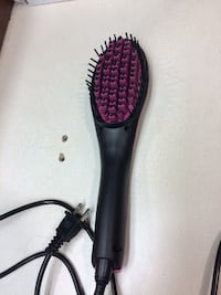 Black and purple corded hair brush Ottawa, K1C