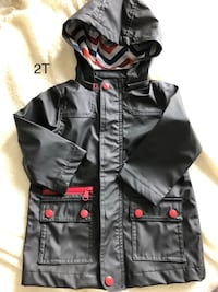 EUC 2T boys rain coat