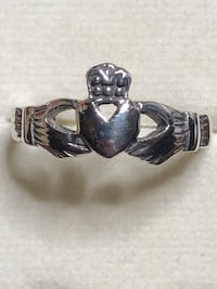 Sterling Silver Claddagh Ring Size 8 Springwater, L0L 1X0