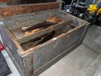 Old rustic toolbox from early 1900's