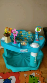 baby's blue and green activity center Toronto, M2J 1Z4