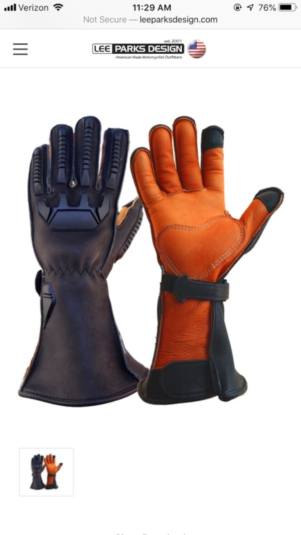 Motorcycle (elk-skin) Gloves (Lee Parks Design) 6b9b190f-c77a-4482-b994-4328a95e8554