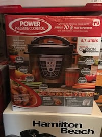 Power pressure cooker xl Toronto, M6L 1B2