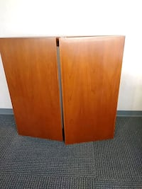 brown wooden 2-door cabinet Wichita, 67202