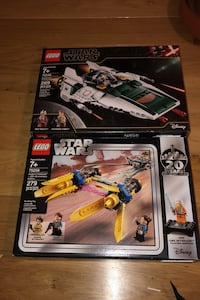 New Lego Star Wars box sets I have number 75258 an75248