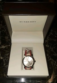 Burberry watch 57 km