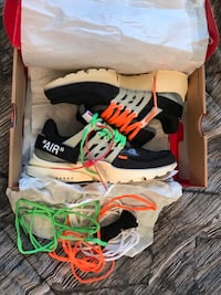 Off white presto DS size 9 men Davie, 33024