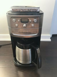 Cuisinart Coffee Maker with Grinder  Toronto, M6S 5B6