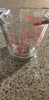Measuring glass By Anchor.