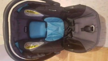 Britax 35 click connect car seat with base for sale