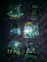 Disney Haunted Mansion Authentic Trading Pins  Costa Mesa, 92627