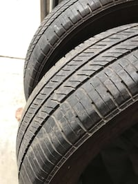 """Two 15"""" tires"""