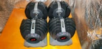 Bowflex SelectTech Adjustable Dumbbells  Round Hill, 20141