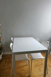 white and gray wooden table Toronto, M4X 1M1