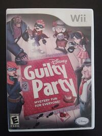 Nintendo Wii Disney Guilty Party  Vaughan, L4L