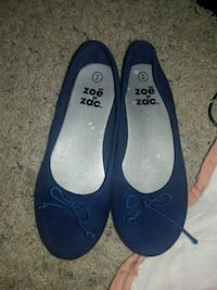 pair of blue suede flats Hesperia, 92345