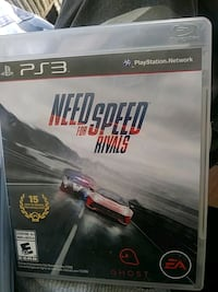 Need for Speed Rivals PS3 game case Albuquerque, 87107