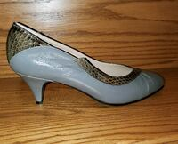 Brand New Bologna Vero Cuoio Leather Heel Shoes -  Newmarket