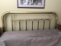 Brass Queen Size Bed Frame Port Moody, V3H 0E5